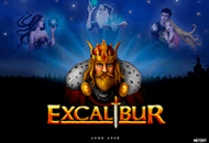 Автомат Excalibur на зеркале Фараон
