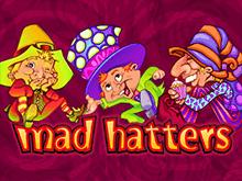 В онлайн клубе Фараон автомат Безумные Шляпники