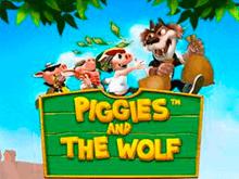 Играть в автомат Поросята И Волк в онлайн клубе Фараон